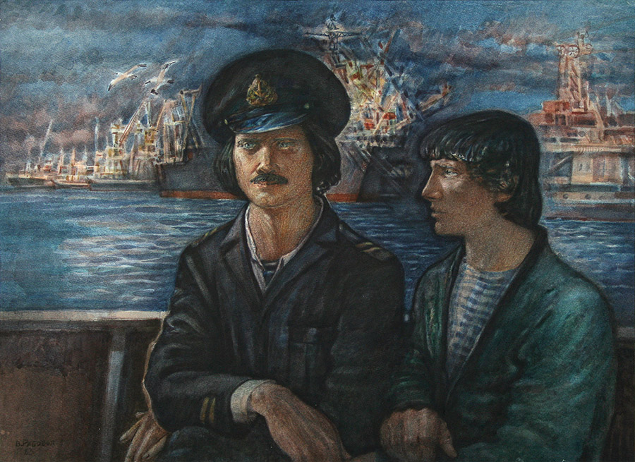 Valery Ryabovol. Kerch. Serezha and Yura from the Ship Andromeda