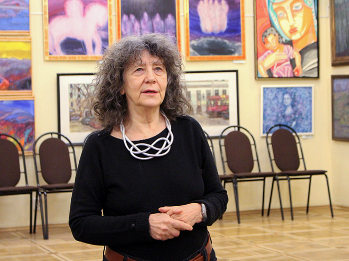 Poet Elena Katsyuba within the project «Portrait of the Russian Fine Word»
