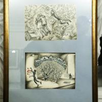 Графика Юрия Землянухина к новеллам Леонида Енгибарова. Фото Татьяны Успенской