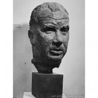 Скульптурный портрет Бидули