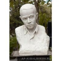 Надгробный памятник В. Боркову. Мрамор, Новодевичье кладбище, Москва, 1953 г.