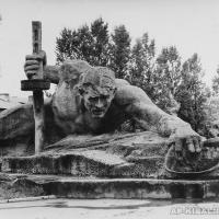 Композиция «Жажда» в Брестской крепости, 1970 г.
