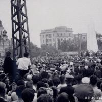 Открытие памятника Н. Г. Чернышевскому в Саратове, 1953 г.