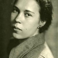 В. А. Кибальникова. Москва, 1957 г.