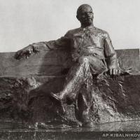 Проект памятника В.И. Ленину в Горках. 1970 г.