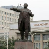 Памятник В.И. Ленину в Саратове. 2013 г.
