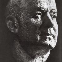 Портрет дважды Героя Советского Союза летчика-космонавта А.А. Леонова, 1975 г.