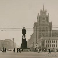 Макет памятника В. В. Маяковскому, 1958 г.