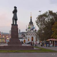 The monument to N.G. Chernyshevsky in Saratov. 2012