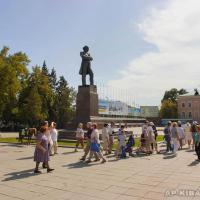 Памятник Н. Г. Чернышевскому в Саратове. 2012 г.