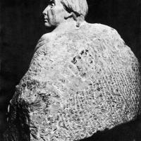 Портрет А. Н. Радищева. Мрамор, 130х95х121, 1953 г., Москва
