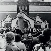 Открытие памятника П. М. Третьякову, Москва, 1980 г.