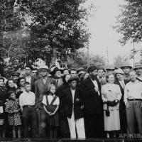 Открытие памятника А. Н. Радищеву в Саратове. 1974 г.