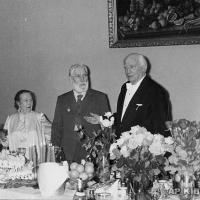 Золотая свадьба А.Г. и А.П. Кибальниковых. Поздравляет солист Большого Театра И.С. Козловский