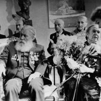 Празднование 70-летия А.П. Кибальникова в Академии Художеств СССР