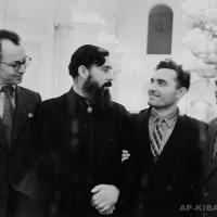А.П. Кибальников с участниками Первого съезда художников РСФСР в Кремле