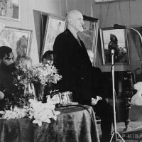 Заседание в зале Академии Художеств СССР