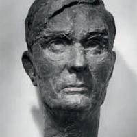 Портрет М. А. Суслова. Гипс, 1973 г. Музей краеведения в Балаклаве
