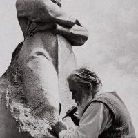 Доработка памятника П. М. Третьякову, Мытищи, 1980 г.