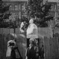 Доработка памятника А.Н. Радищеву в Саратове